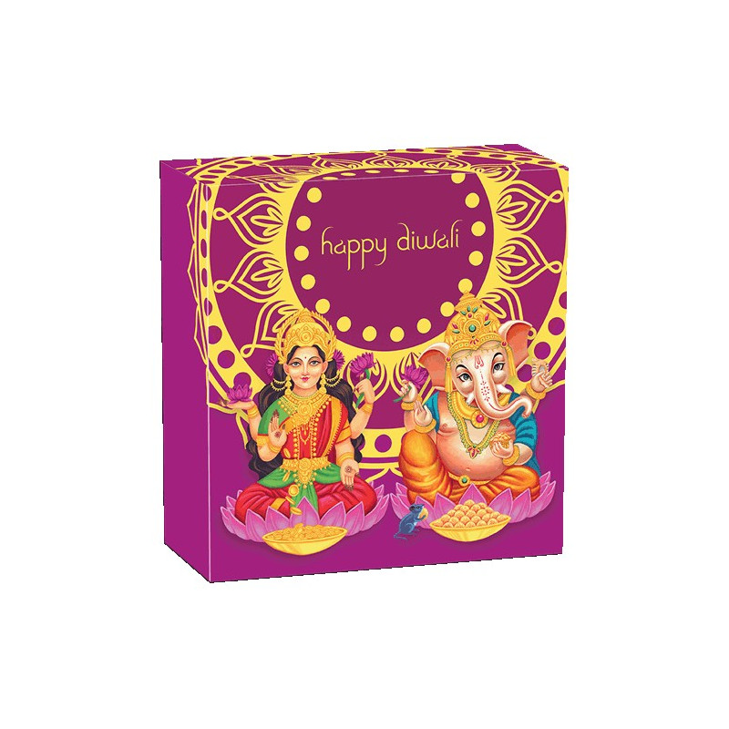 2019 Diwali Festival 1oz Silver Coloured Medallion