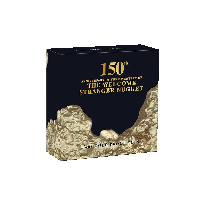 2019 $25 Welcome Stranger 1/4oz Gold Proof Coin