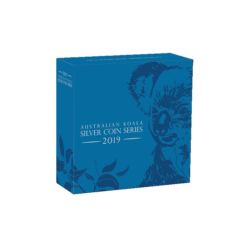 2019 $1 Australian Koala High Relief 1oz Silver Proof Coin