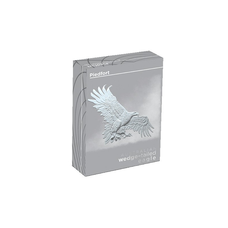 2019 $2 Australia Wedge Tailed Eagle 2oz Silver Proof Piedfort Coin