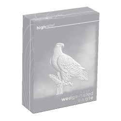 2016 $1 Australia Wedge Tailed Eagle High Relief 1oz Silver Proof Coin