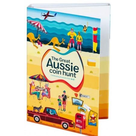 2019 The Great Aussie Coin Folder ( No Coins)