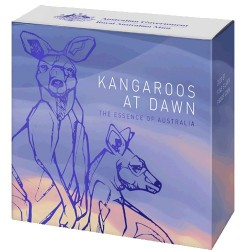 2020 $1 Kangaroo at Dawn 1/2 Oz Fine Silver Proof Coin