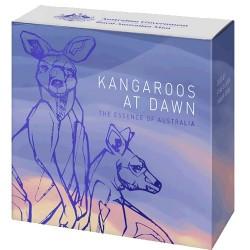 2020 $1 Kangaroo at Dawn 1/2 Oz Fine Silver Proof Coin