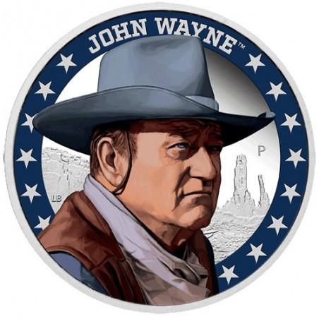 2020 $1 John Wayne 1oz Silver Proof Coin