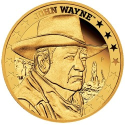 2020 $25 John Wayne 1/4oz Gold Proof Coin