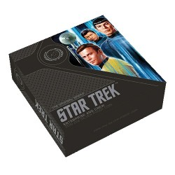 2019 $2 Star Trek : Enterprise & Crew 2oz Silver Proof Coin