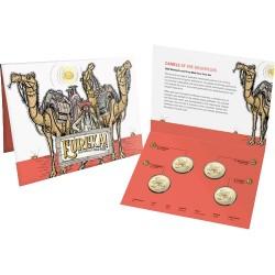 2020 $1 Eureka! Australia's Gold Rush Albr Mintmark & Privymark 4 Coin Set
