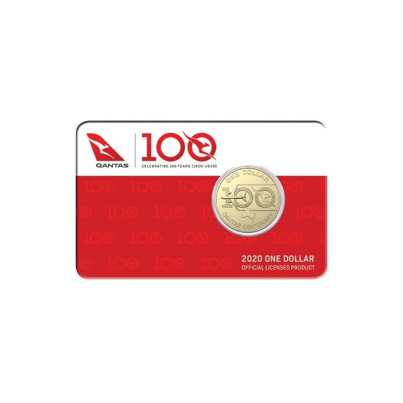 2020 $1 Qantas Centenary Albr Mint Roll