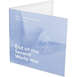 2020 $2 75th Anniversary of the End of World War II C Mintmark Coin in RAM Card