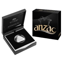2015 $5 ANZAC Centenary Triangular Silver Proof Coin
