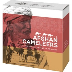 2020 50c Afghan Cameleers - Pioneers of Inland Transport Silver Proof Coin