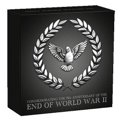2020 $1 End of WWII 75th Anniversary 1oz Silver Proof Coin