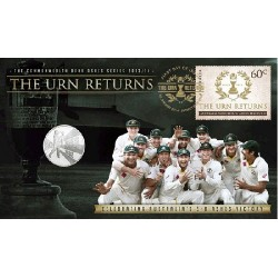2013 - 2014 20c The Urn Returns - Ashes Coin & Stamp Cover PNC Limited Edition