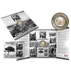 2015  Battle of Lone Pine Limited Edition Medallion Cover