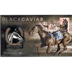 2013 Black Caviar Limted Edition Medallion Cover PNC
