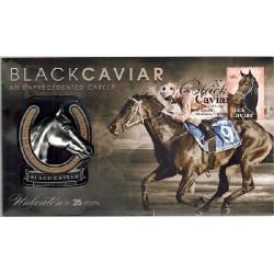 2013 Black Caviar Limted Edition Medallion Cover PNC