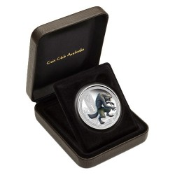 2013 $1 Mythical Creatures Series - Werewolf 1oz Silver Proof Coin