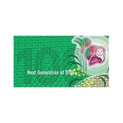 2020 $100 RBA Folder Next Generation Unc Banknote