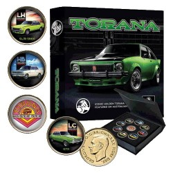 Holden Torana Enamel 9 Penny Collection