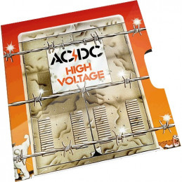 2020 20c AC/DC High Voltage Uncirculated Coin in RAM Card