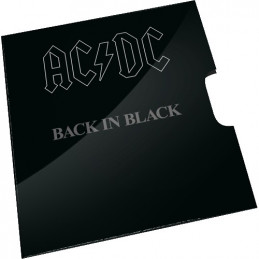 2020 20c AC/DC Back in Black Uncirculated Coin in RAM Card