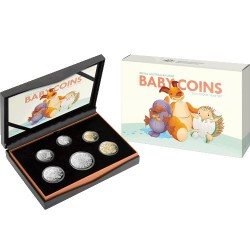 2021 Baby Mint Set - Special $1, 20c & 5c Reverse Designs