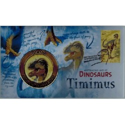 2013 Australia's Age of Dinosaurs Timimus Medallion Cover
