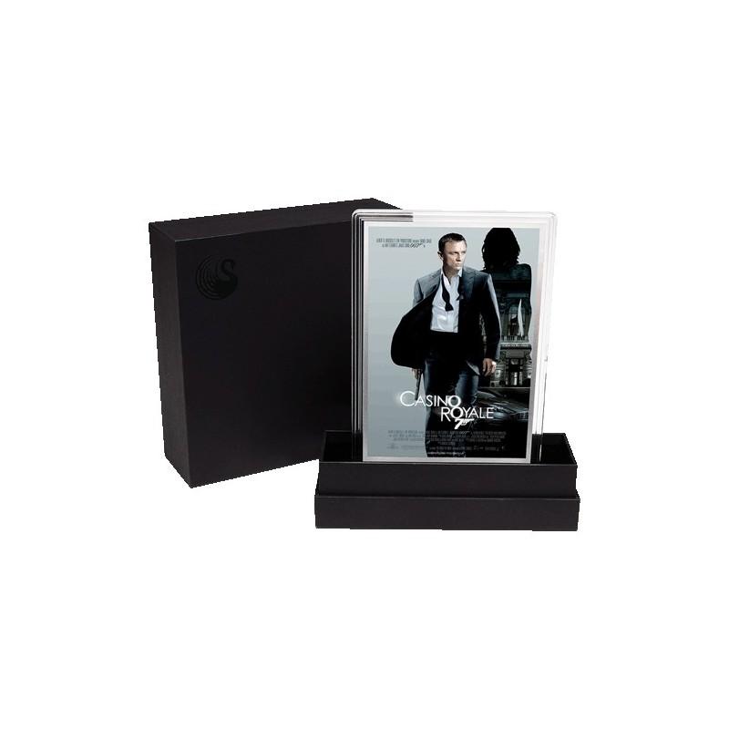 2020 007 James Bond Movie Poster 5g Silver Foil - Casino Royale