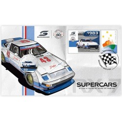 2020 50c Supercars Mazda Coin & Stamp Cover PNC