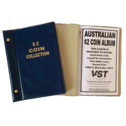 Australian Circulating $2 Coin Album Blue