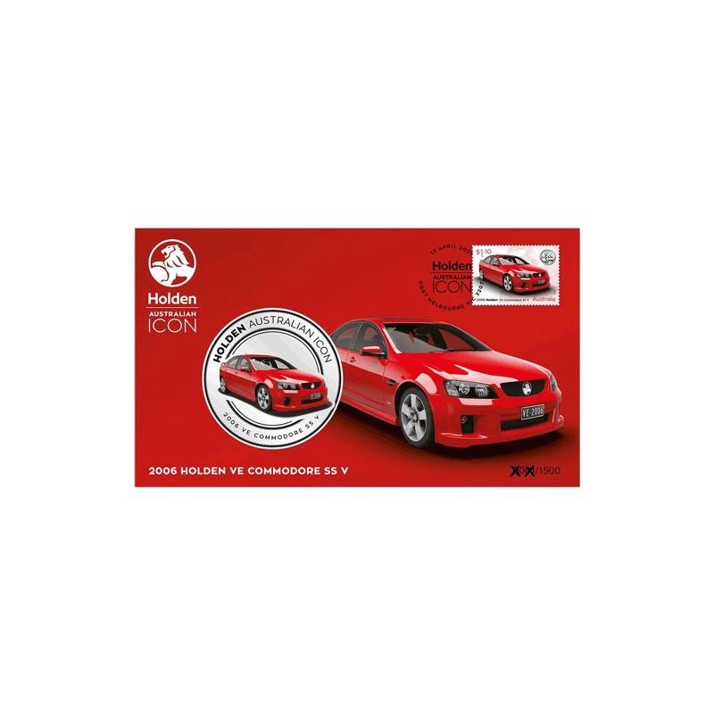 2021 Holden Australian Icon 2006 Holden VE Commodore SS V Medallion & Stamp Cover PNC