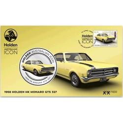 2021 Holden Australian Icon 1968 Holden HK Monaro GTS 327 Medallion & Stamp Cover PNC