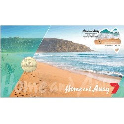 2021 $1 Home and Away Coin & Stamp Cover PNC