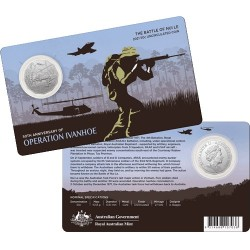 2021 50c 50th Anniversary of the Battle of Nui Le Uncirculated Coin
