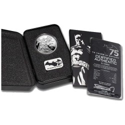 2014 $5 Niue 75 Years of Batman 2oz Silver Proof Coin