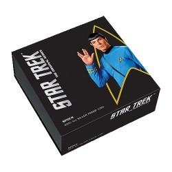 2015 $1 Star Trek - The Original Series Spock 1oz Silver Proof Coin