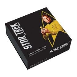 2015 $1 Star Trek - The Original Series Captain James T Kirk 1oz Silver Proof Coin