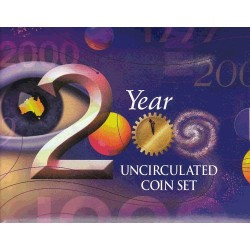 2000 Mint Set - Millenium Uncirculated Set