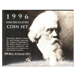 1996 Mint Set - Sir Henry Parkes Uncirculated Set