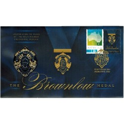 2014 Brownlow Medal Stamp & Coin Cover PNC Limited Edition