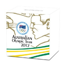 2012 $1 Australian Olympic Team 1oz Silver Proof Coin