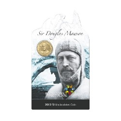 2012 $1 Inspirational Australians Series - Sir Douglas Mawson Uncirculated Coin